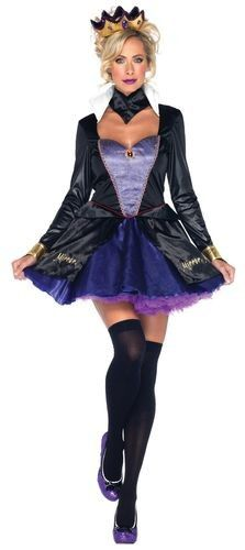 Halloween Pageant Wear Adult Halloween Costume Sexy Evil Queen Snow White Disney with Extra Petticoat #halloween #costume #pageant #wear www.loveitsomuch.com
