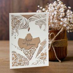 Einladungskarte Hochzeit Liebespaar                                                                                                                                                                                 Mehr