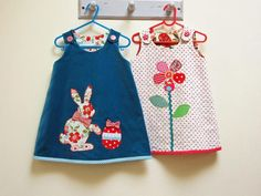 Easter Bunny, Petal Reversible Dress:   Sizes:  Babies (6-9 months), toddlers & girls to 8 years.  -  Craftsy.com