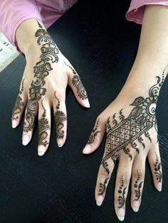 Unique And Beautiful Mehandi Designs