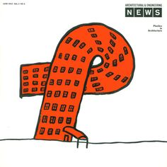 architectural engineering news june 1963 via milton glaser design study center and archives