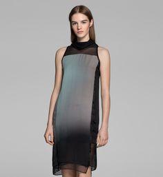 MERCURY OMBRE ORGANZA DRESS