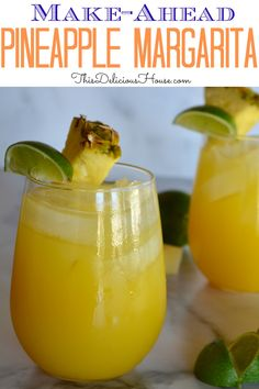 Simple and delicious recipe for the BEST Pineapple Margaritas. Make ahead and serve in a pitcher over ice. Simple and delicious recipe for the BEST Pineapple Margaritas. Make ahead and serve in a pitcher over ice. Fun Cocktails, Summer Drinks, Cocktail Recipes, Brunch Drinks, Dinner Recipes, Dole Pineapple Juice, Pineapple Margarita, Pineapple Cocktail, Alcohol Drink Recipes