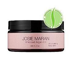 Josie Maran Argan Oil 100% pure WHIPPED Argan Oil 8 oz tub