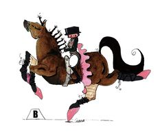 yes! too bad Andre is a gelding.. I don't think he'd appreciate the pink.
