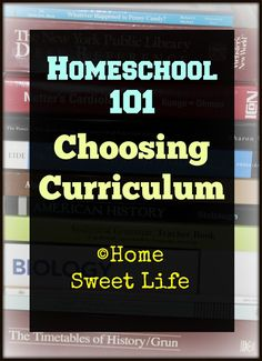 """Home Sweet Life Blog ~ If you've already read last weeks' posts, you'll remember I posed the question on Wednesday about whether or not you really need any curriculum to homeschool. That will be where we start today.  Do I actually need curriculum to homeschool? That depends on several things, but here are the two main ones: are you recreating """"school at home"""" or are you simply educating your children?"""