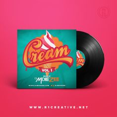 #FBF to this mouthwatering cover design concept we did for DJ Mike Zee's Cream mix tape.