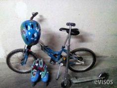 BICICLETA JUNIOR, PATINES SEMINUEVOS Y PATINETE  Por no usar ya se vende Bicicleta junior marca Cup´s con s ..  http://alicante-city.evisos.es/bicicleta-junior-patines-seminuevos-y-patinete-id-691857