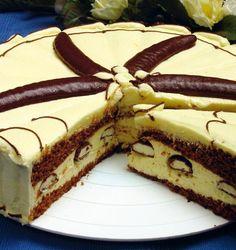 Torta Banániky v čokoláde - Mňamky-Recepty. Poke Cakes, Lava Cakes, Posne Torte, Torte Recepti, Czech Recipes, Custard Cake, Gingerbread Cake, Pavlova, Homemade Cakes