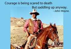 John Wayne Quote on Success