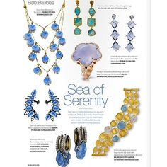 """Sail away this of July in a """"Sea of Serenity"""" with SUTRA sapphire ear cuffs - 🌊 Red White Blue, Serenity, 4th Of July, Sapphire, Ear Cuffs, Jewels, Instagram Posts, Sea, Independence Day"""