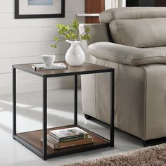 Simple Living Piazza End Table | Overstock.com Shopping - The Best Deals on Coffee, Sofa & End Tables