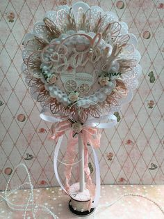 Baby Shower Cards, Baby Shower Parties, Baby Lollipops, Paper Rosettes, Candy Cards, Snail Mail, Hang Tags, Baby Decor, Kids Cards