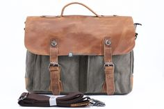 $66.68 Canvas Messenger Bag For Men Shoulder Bag