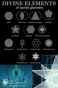 Geometry- Holy cow. The 7 days of Creation