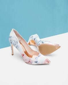 Porcelain Rose court shoes - Nude Pink | Shoes | Ted Baker