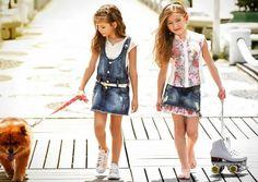 Looks moda infantil