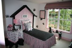little girls paris inspired bedrooms | Theme Paris - a pretty cool girl room