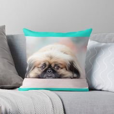 'Funny Masks' Throw Pillow by DeonsDesigns Designer Throw Pillows, Pillow Design, Original Art, Masks, Art Prints, Printed, Awesome, Funny, Products