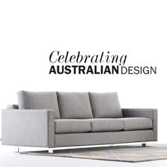 Celebrating Australian Design with 15% Off all Studio Pip sofas! The Maxwell wide arms and dimensions give it stability and comfort.  Low to the ground, there's plenty of room to stretch out and relax on this sofa and still be supported.