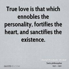 True love inspires virtue.