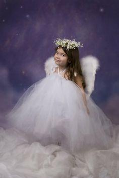 White Angel Tutu Dress ...weddings / birthdays by Baby2BNashville, $81.00