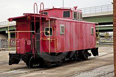 Red Train Caboose