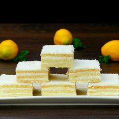 Prăjitură Alba ca zăpada- cea mai populară și delicioasă prăjitură românească! - savuros.info Mai, Feta, Cheese, Cooking, Recipes, Sweet Treats, Cucina, Kochen, Rezepte