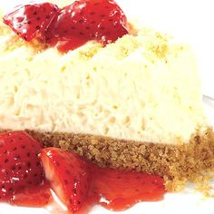 Check out this Sara Lee Dessert recipe I found at https://saraleedesserts.com/recipe/cheesecake-with-strawberries/