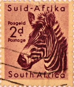 South African stamp.