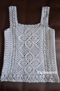 crochet top pattern diagrams pdf