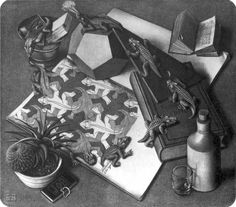 MC Escher Maurits Cornelis Escher como se usa o más nacida en los Países Bajos en 1898. Hasta 1918, su padre, George ingeniero escher civil, y su madre Sara, y cuatro hombres con su hermano, que nació en Arnhem vivía en la ciudad.   vida escolar no es nunca una buena Escher MC, los dibujos gráficos del maestro, Samuel de Mesquita Jessurun gráficos en las recomendaciones de la ha tenido a bien trabajar. Después de graduarse de la educación gráfica es siempre una importante vida