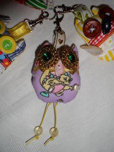 3. Owl Keychain