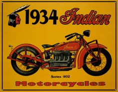 Cheap sign plate, Buy Quality wall home decor directly from China decorative home decor Suppliers: 1943 Indian motorcycles! vintage tin signs retro metal sign plate painting decor the wall of garage bar club cafe home and so on Vintage Advertising Posters, Vintage Advertisements, Vintage Posters, Advertising Signs, Art Posters, Motos Vintage, Vintage Indian Motorcycles, Vintage Tin Signs, Vintage Cafe