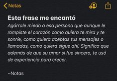 Image shared by Jenny Valdez. Find images and videos about text, phrases and frases en español on We Heart It - the app to get lost in what you love. Real Quotes, Fact Quotes, Tweet Quotes, Book Quotes, Words Quotes, Life Quotes, Inspirational Phrases, Motivational Phrases, Frases Instagram