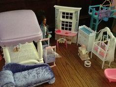 Barbie bedroom and nursery