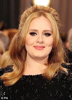 Singer Adele has been given an MBE for services (Member of the Most Excellent Order of the British Empire) to music