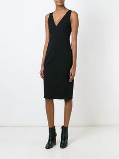 Theory Kleid mit V-Ausschnitt