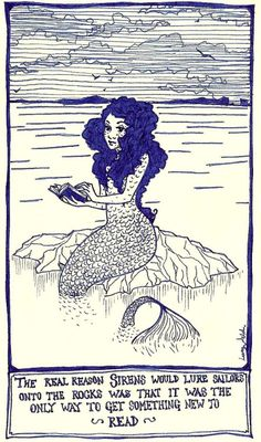 ~ Mermaids & Books - Siren