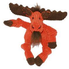 HuggleHounds Knottie Moose Dog Toy