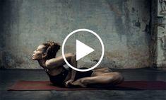 "This Ashtanga yoga demo called ""Darkness to Light"" shows Ashtangi yoga teacher Laruga Glaser flowing through asanas with strength & grace. Watch it here!"