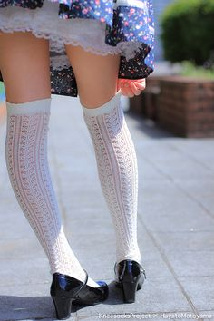 Sock up.Cute Knee High.