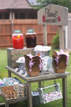Stay sweet with this Shabby Chic Farmers Market Birthday Party at Kara's Party Ideas. Shabby Chic Birthday Party Ideas, First Birthday Party Themes, Girl First Birthday, Birthday Banners, Third Birthday, Birthday Invitations, Birthday Ideas, Construction Birthday Parties, Construction Party