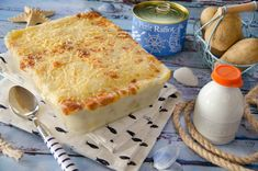 One Pot Meals, Sauce Béchamel, Mousse, Food And Drink, Pizza, Cheese, Dinner, Recipes, Blog