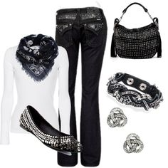 """Rocker!"" by honeybee20 on Polyvore"