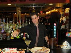 Candicci's Restaurant and Bar makes great martini's!