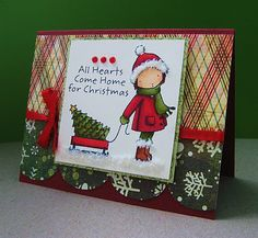 Christy Gets Crafty: All Hearts Come Home for Christmas - MFT