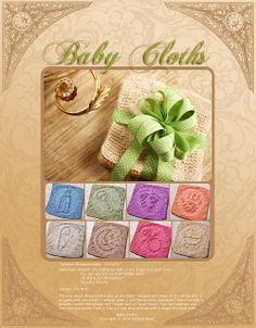 Baby Cloths (set of 8) by Kris Knits knitting patterns $3.25 on Ravelry at http://www.ravelry.com/patterns/library/baby-cloths