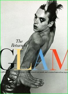 Jonathan Rhys Meyers graces an unknown magazine cover around the time of Velvet Goldmine's release.