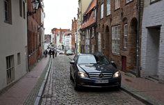 auf den Straßen von Lübeck